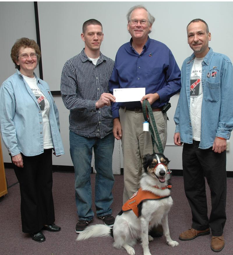 ABG NEADS donation Nov 2011.