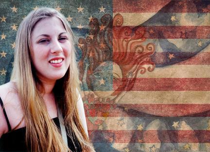 Carrie Progen Flag Photo