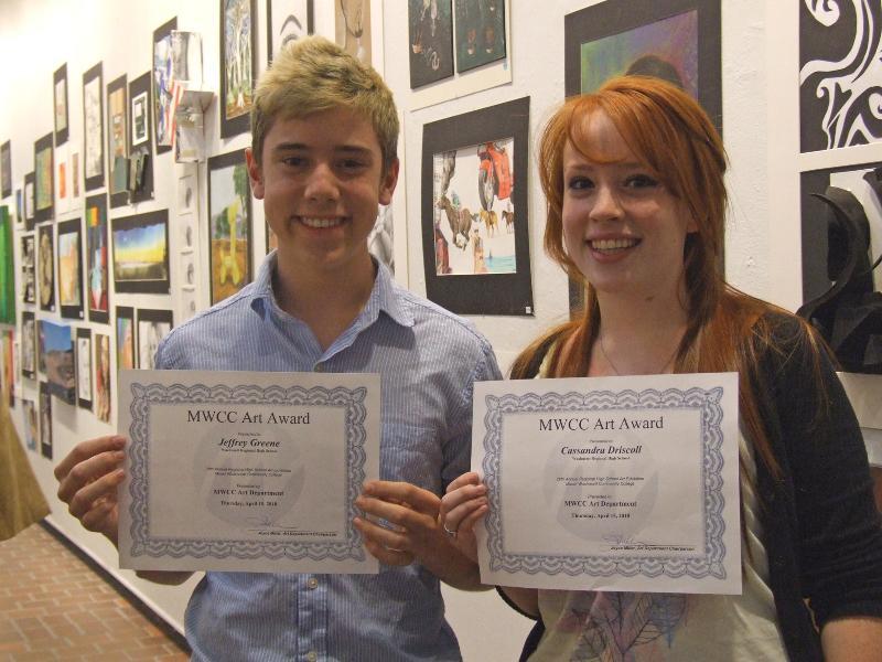 Wachusett Regional High School student artists
