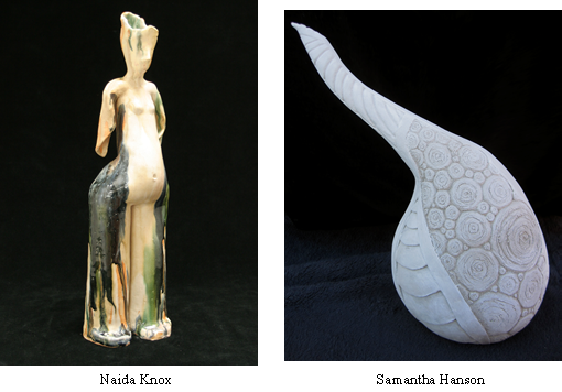 New Works in Clay exhibit