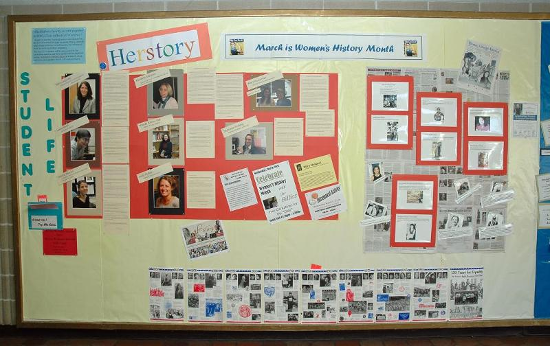 Women's History Month 2012