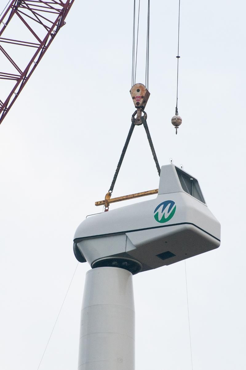 MWCC north turbine nacelle