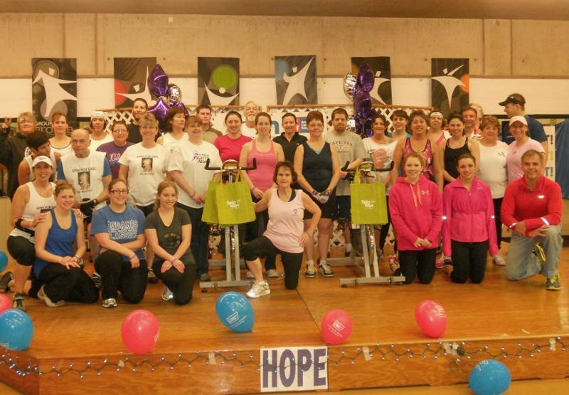 Spin for Hope 2012