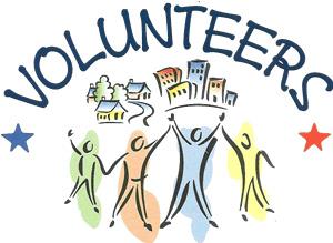 Volunteers circle