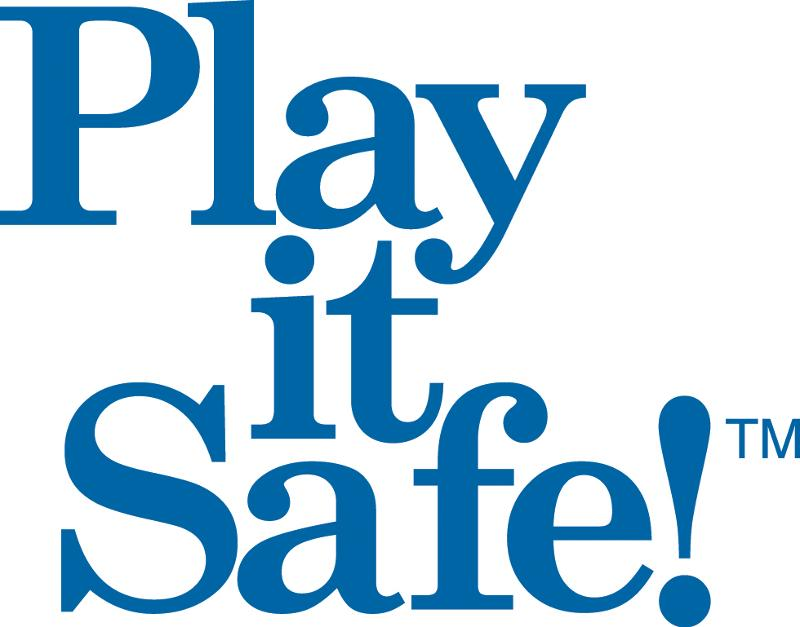 Play It Safe blue logo