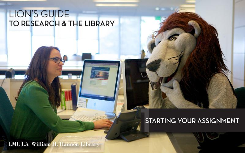 Lions Guide to Research & the Library