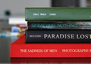 spine poetry books