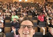 new LMU parents selfi