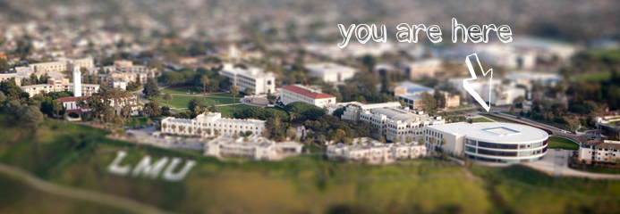 LMU Library You Are Here