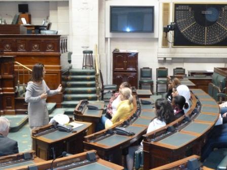 klas in parlement