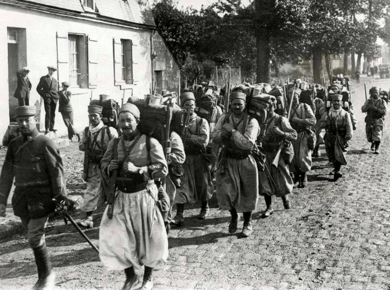Marokkaanse soldaten