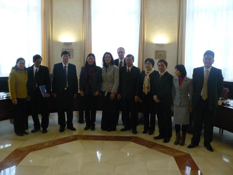 vietnamese delegatie