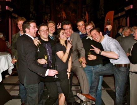 Nieuwjaarsreceptie - 2012 - Antwerpen