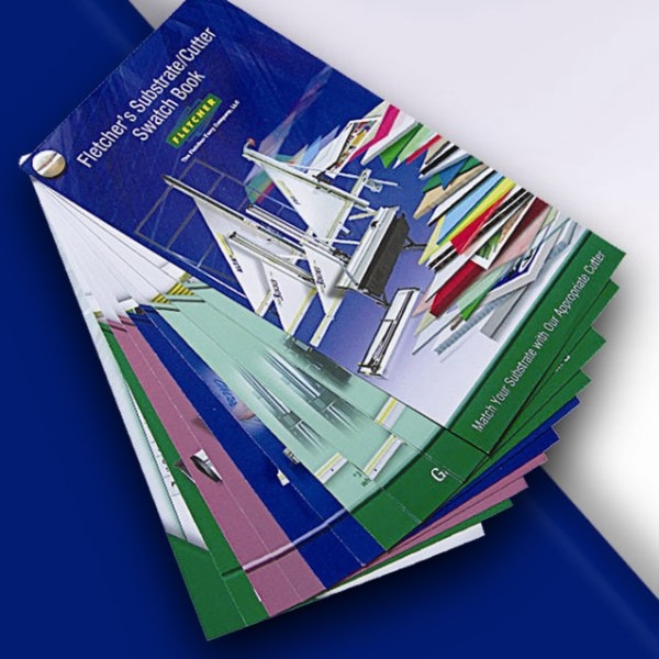 New Substrate/Cutter Swatch Book
