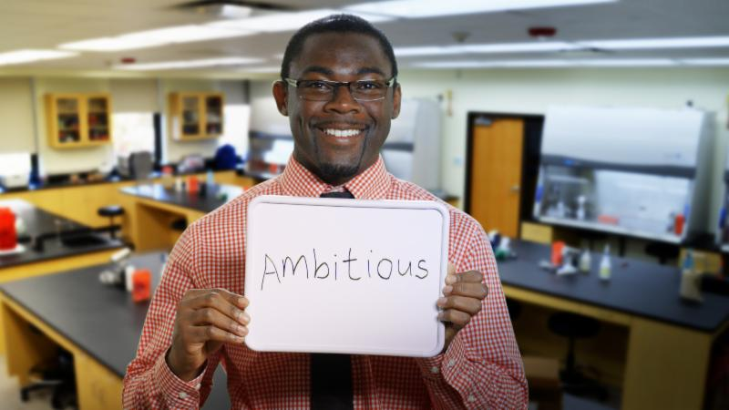Henry Appiah Ambitious
