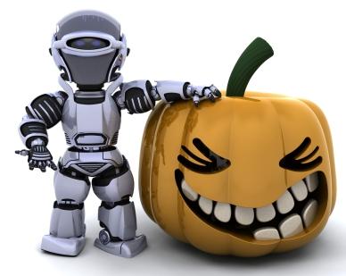 Jack O'Lantern Robot