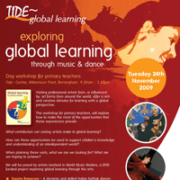 Tide Global Learning through music and dance poster