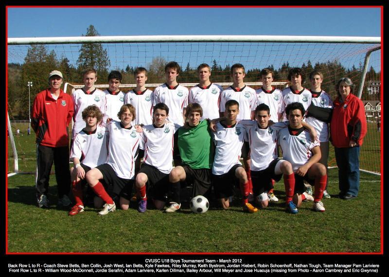 Comox Valley United Soccer Club company