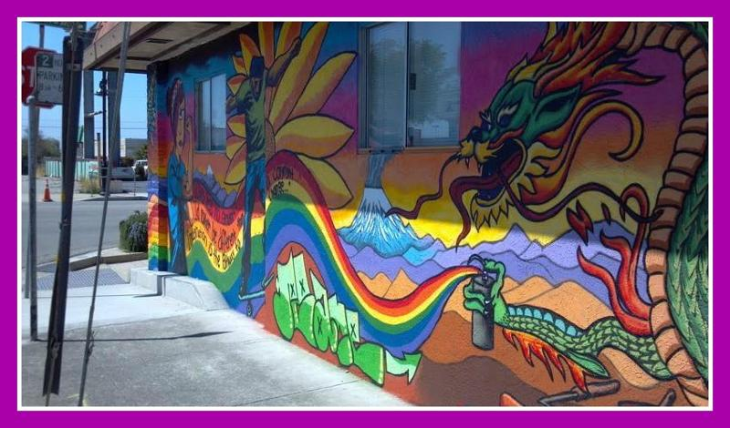 Richmond Mural Rainbow
