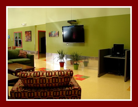 Respite Center Lounge Area