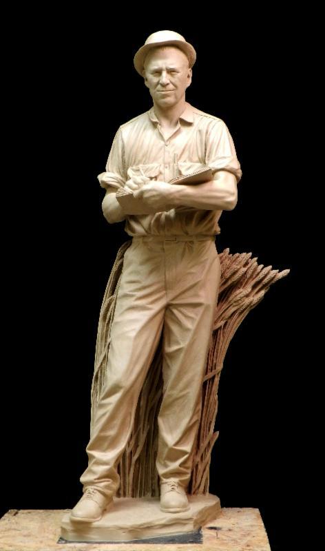 Borlaug Statue