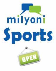 milyoni sports open
