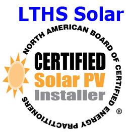 LTHS Solar logo