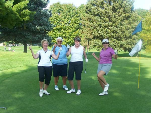 Golf tournament golfers
