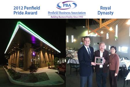 Royal Dynasty - 2012 Penfield Pride Award