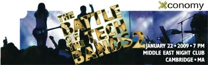 Battle of the Tech Bands