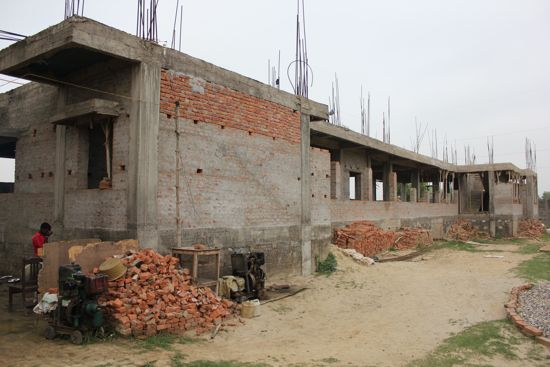 Children's Home Being Constructed