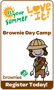 Brownie Day Camp Banner