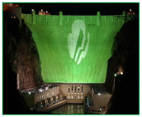 Hoover Dam Goes Green