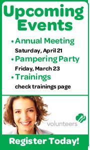 Volunteer Upcoming Events