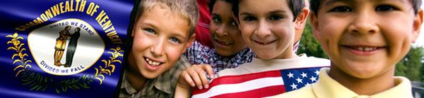 Commonwealth of Kentucky Header with Children