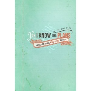For I Know the Plans Keepsake Journal