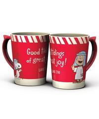 $9.99 Nostalgic Peanuts Christmas Mug, Click to buy figtreebooks.ca