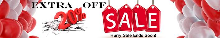 20% Clearance Sale