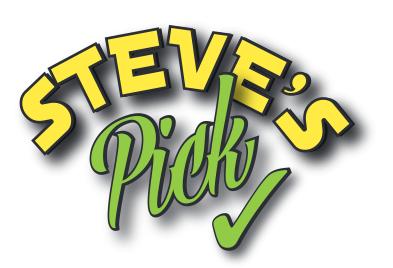 steve's pick graphic