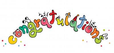 Congratulatioins