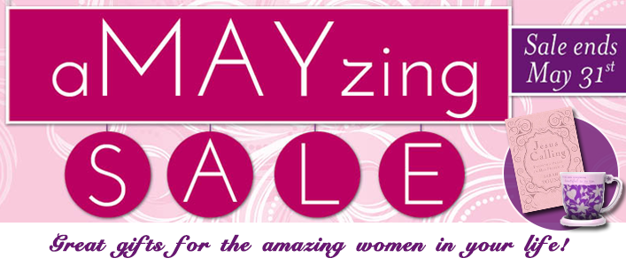A MAY zing Sale Banner