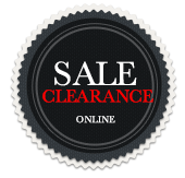 Clearance sale badge