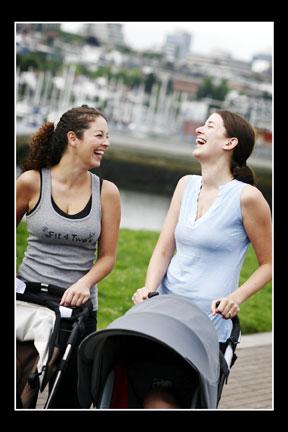 2 stroller fitness moms vertical