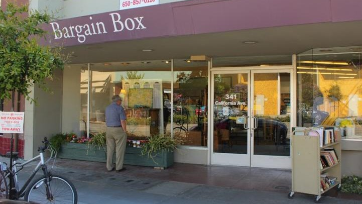 Bargain Box store front