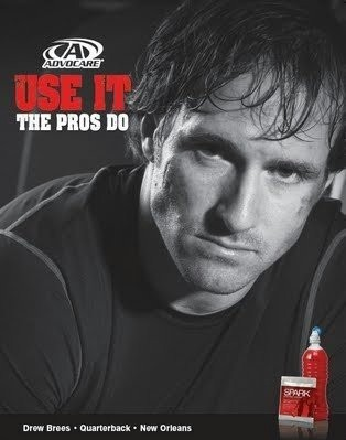 Drew Brees Ad
