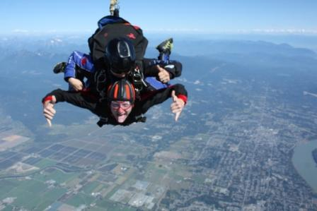 brennan skydiving
