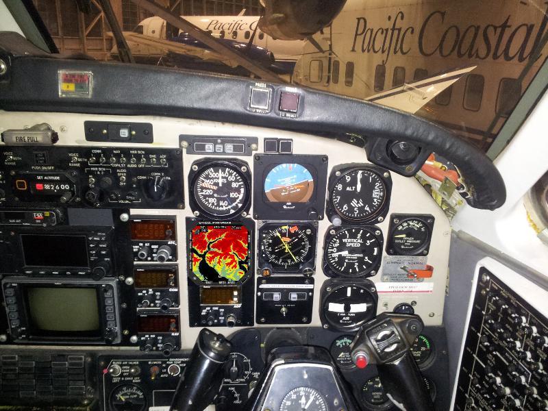 Beech1900 TAWS Pasco