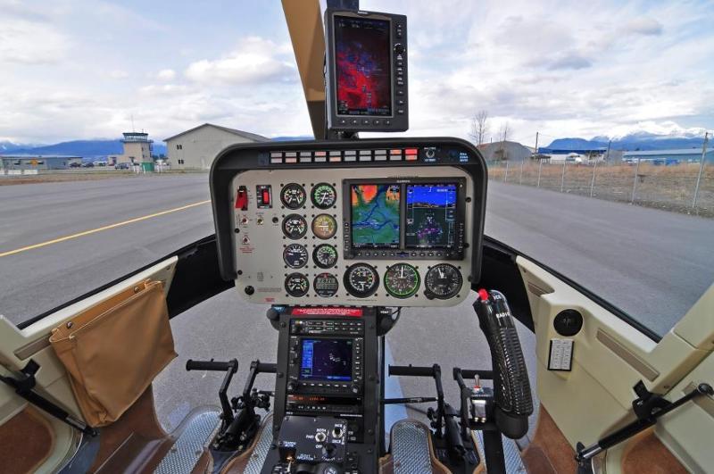 Jet Ranger G500H Panel