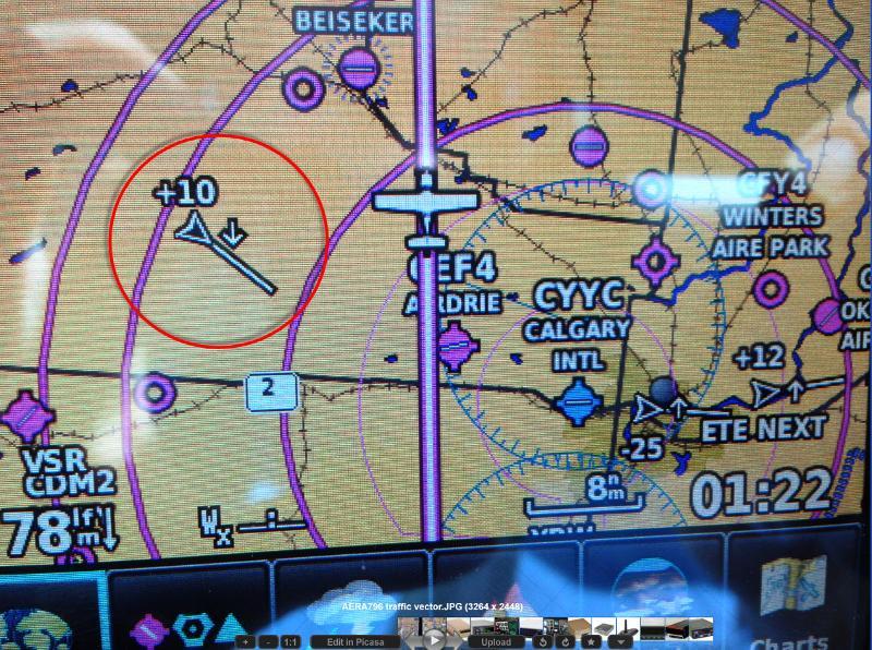 AERA 796 traffic vector