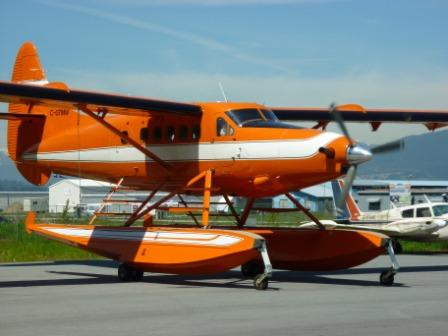 Twin Otter ready to go